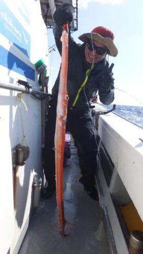 奄美大島ジギング 赤ヤガラ